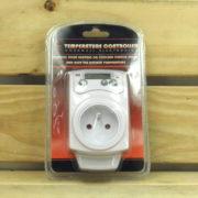 Régulation Électrique Température Cornwall Electronics - PRISE THERMOSTAT INVERSABLE 230V 16A 3680W