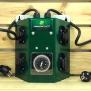 Régulation GrennPower Timer - PROGRAMMATEUR 4X PRISES 4000W 17A 230V