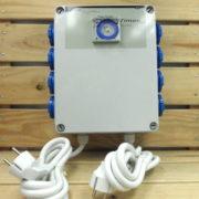 Régulation GSE Timer - PROGRAMMATEUR 8X PRISES 4800W 20A 230V