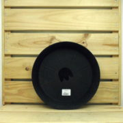 SOUCOUPE RONDE NOIRE Ø260mm