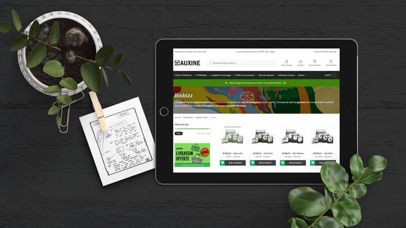 webshop www auxine shop fr growshop en ligne colmar alsace